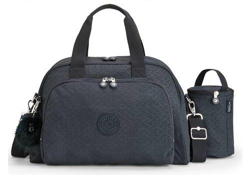 Luiertas - mommy bag - C-Night blue q black