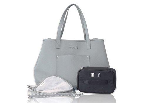 Luiertas - mommy bag - V-French grey
