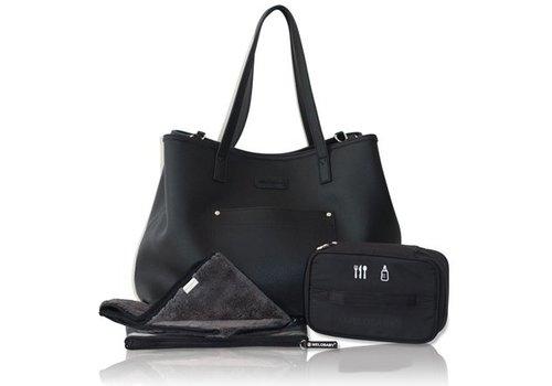 Luiertas - mommy bag - V-noir