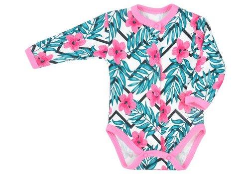 Baby romper met lange mouw Tropical