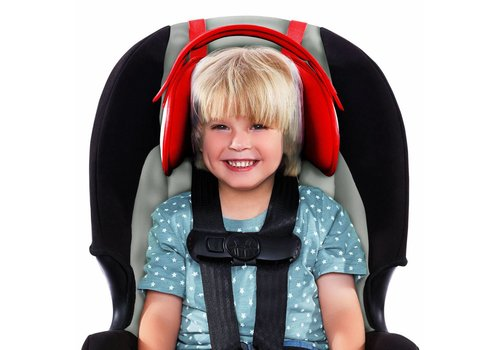 NapUp Hoofdsteun autostoeltje - rood