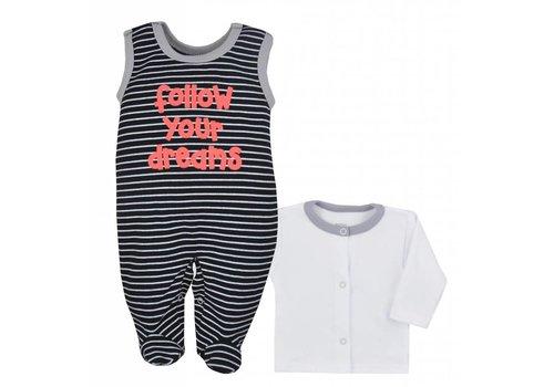 2-delige babykleding set Bora - zwart