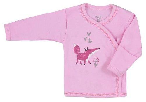 Overslagshirtje Happy Baby - roze