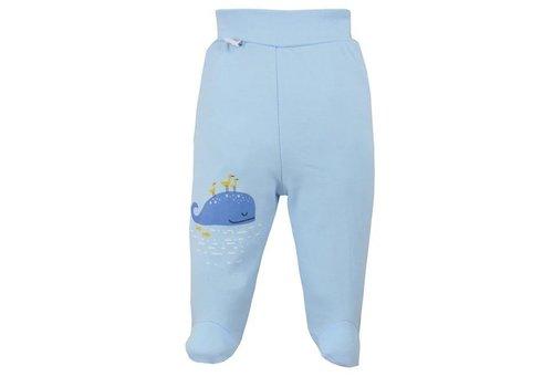 Broekje met voetjes Happy Baby - blauw