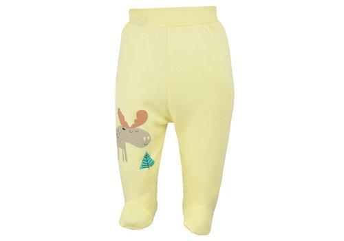 Broekje met voetjes Happy Baby - geel