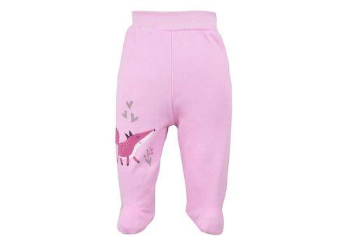 Broekje met voetjes Happy Baby - roze