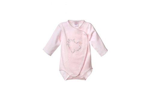 Romper met lange mouw  - Celesta - roze