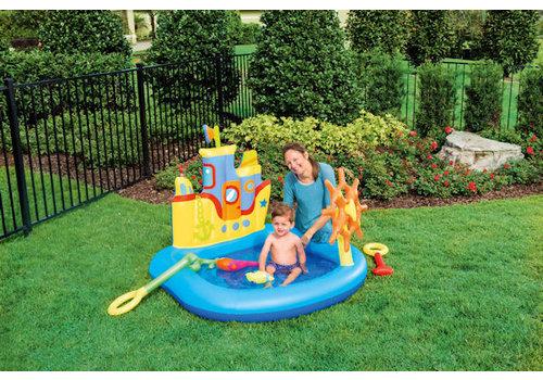 Opblaasbaar Playcenter sleepboot