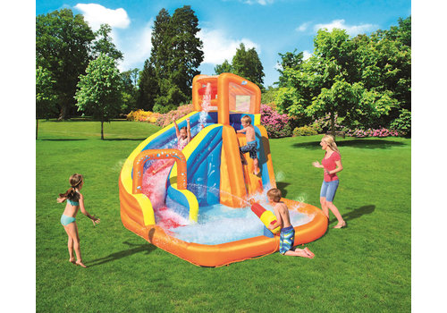 Opblaasbaar H2OGO! waterpark turbo splash water zone