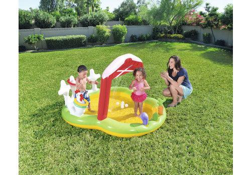 Opblaasbaar Playcenter met watersproeier