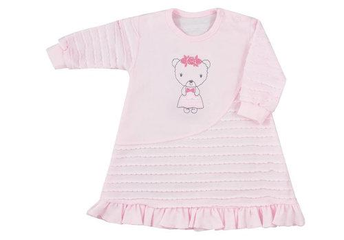 Baby jurkje Dominica met lange mouw - roze