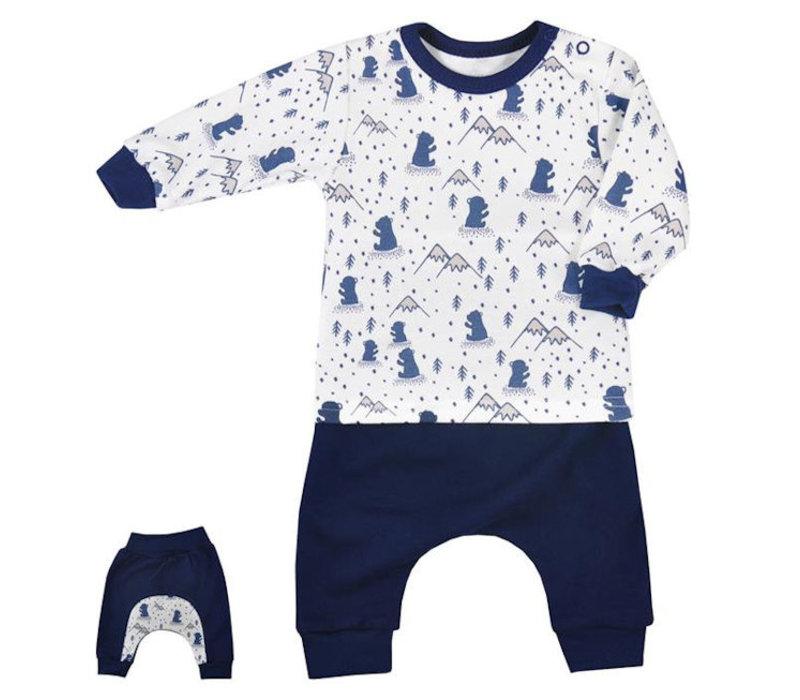 Babykleding Setjes.2 Delige Babykleding Set Taiga Granaat Baby En Kinderwereld