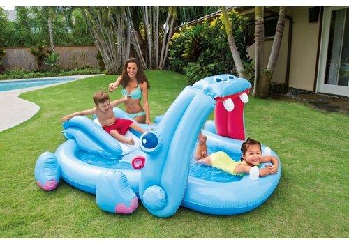 Opblaasbaar speelzwembad - playcenter Nijlpaard
