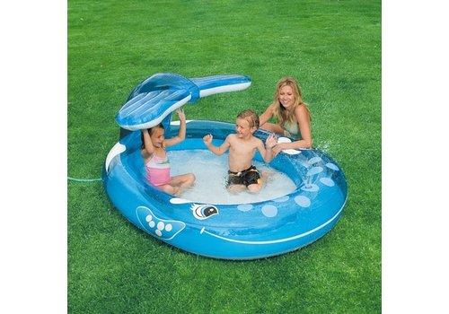 Opblaasbaar speelzwembad Walvis