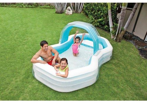 Opblaasbaar Family Zwembad Cabana