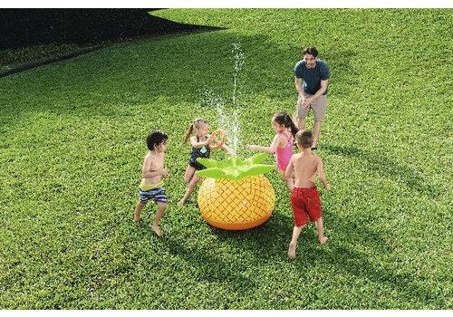 Opblaasbaar Waterspel Ananas met sproeier