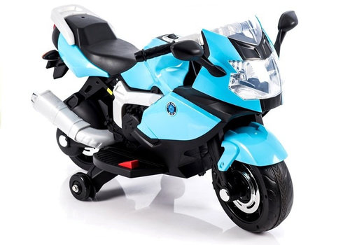 Elektrische kindermotor Love it - blauw