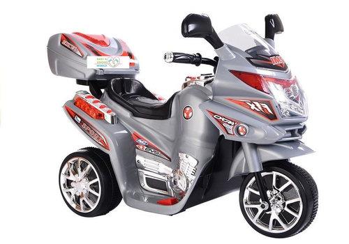 Elektrische kindermotor Little biker - grijs