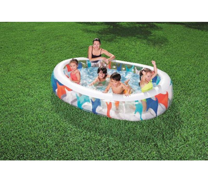 Opblaasbaar Family Zwembad ovaal elliptic