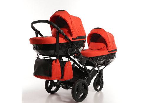 Tweeling kinderwagen - Diamond Duo Slim 03