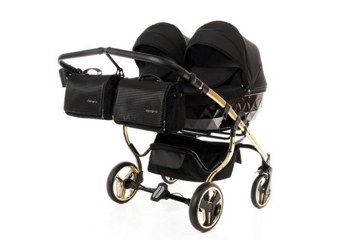 Tweeling kinderwagen - Diamond Supreme Duo 04