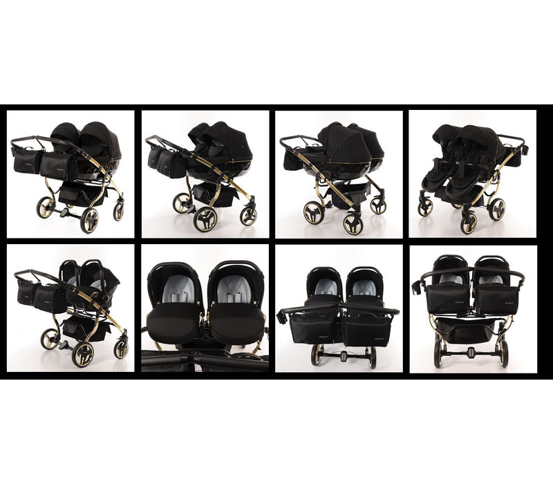 Tweeling kinderwagen - Diamond Supreme Duo 02