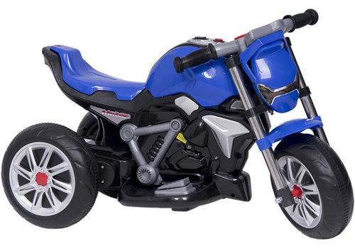 Elektrische kindermotor - blauw