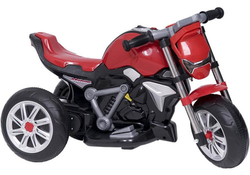 Elektrische kindermotor - rood