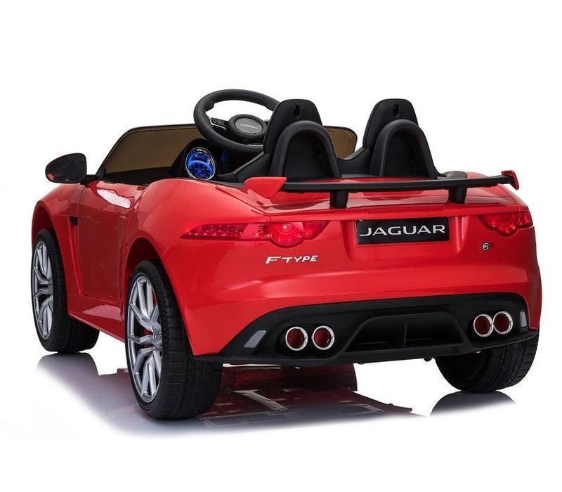 Elektrische kinderauto met accu - Jaguar F-Type rood