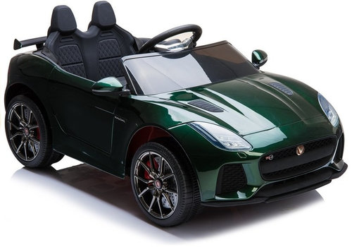 Elektrische kinderauto met accu - Jaguar F-Type groen