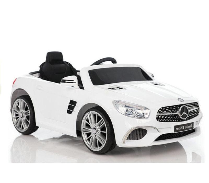 Elektrische kinderauto met accu - Mercedes SL400 wit