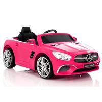 Elektrische kinderauto met accu - Mercedes SL400 roze