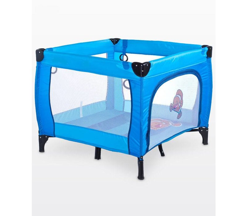Baby box Dieren blauw