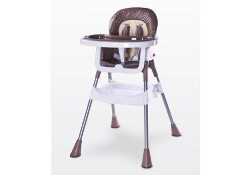 Kinderstoel Pop bruin
