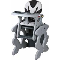 Kinderstoel Primus grijs is een leuke meegroeistoel