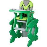 Kinderstoel Primus groen is een leuke meegroeistoel