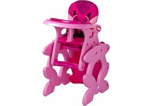 Kinderstoel Primus roze