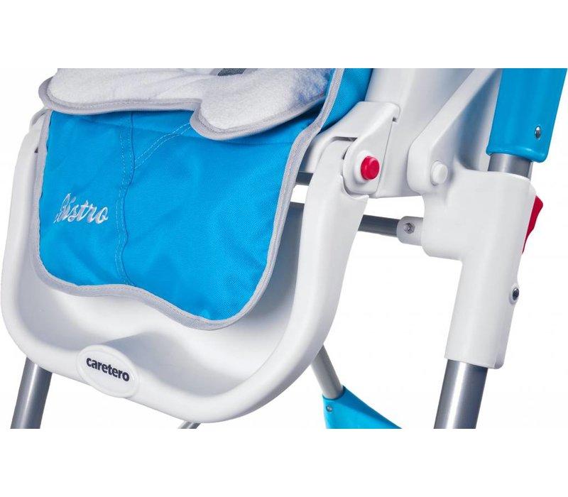 Kinderstoel Bistro blauw is in leuke kleuren te verkrijgen
