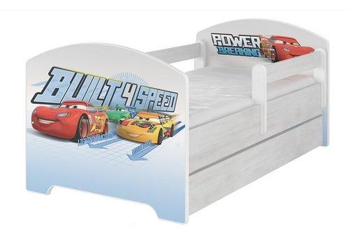 Compleet Disney kinderbed met lade & gratis matras - Cars