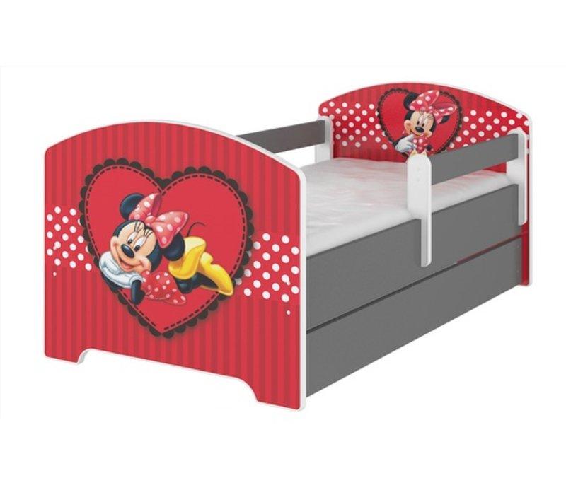 Compleet Disney kinderbed met lade & gratis matras - Minnie Mouse