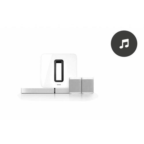 Sonos luisterservice (per uur)
