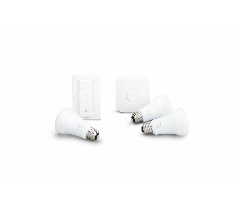 White and Color Ambicance E27 Starter kit