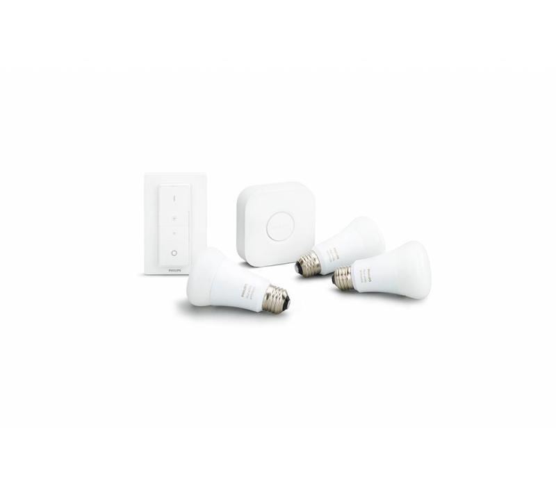 White Ambicance E27 Starter kit