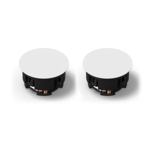 Sonos Inbouw Plafondspeakers (set) by Sonance - wit - inceiling speakers