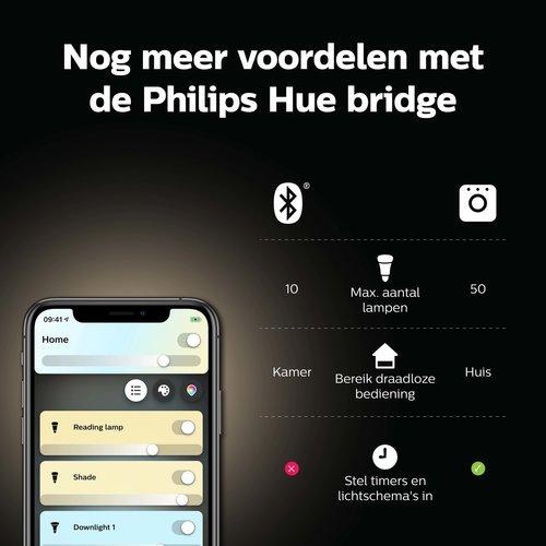 Philips Hue Standaardlamp - warm tot koelwit licht - 2 pack