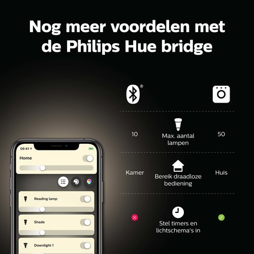 Philips Hue Spot - warmwit licht - 1 pack