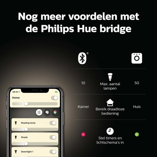 Philips Hue Spot - warmwit licht - 2 pack