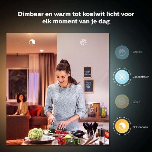 Philips Hue Spot - wit en gekleurd licht - 1 pack