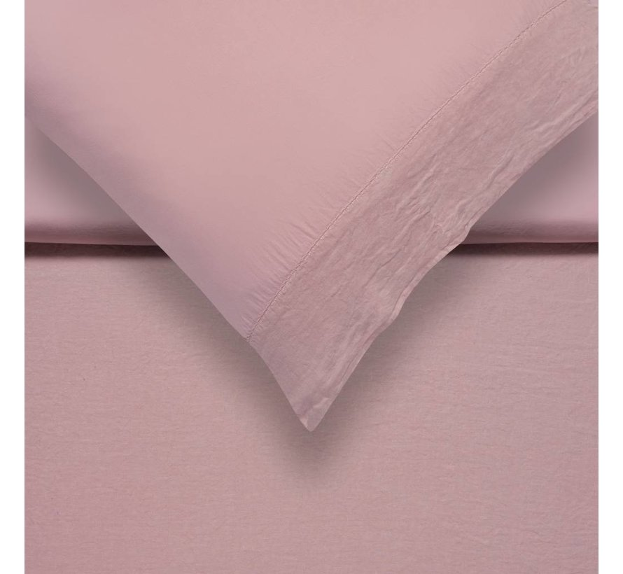 PURE 07 dekbedovertrek Sepia Pink (linnen / satijnkatoen) PRSA17207