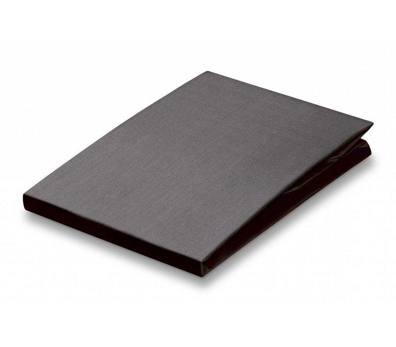 drap housse anthracite Drap housse Vandyck, lisse   100% coton fin   différentes tailles  drap housse anthracite